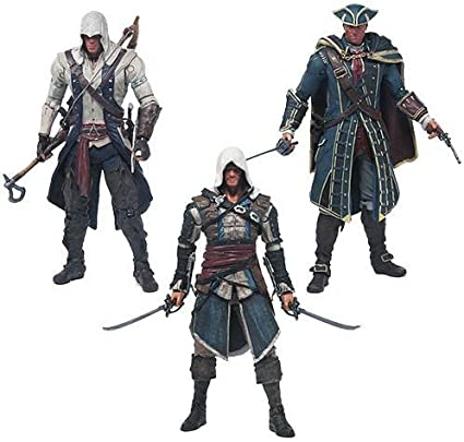 Amazon Com Mcfarlane Toys Assassin S Creed Series 1 Action Figure Set Toys Games