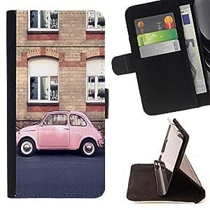 King Case - FOR Apple Iphone 6 PLUS 5.5 - Can I give up now - Prima caja de la PU billetera de cuero con ranuras para tarjetas, efectivo Compartimiento desmontable y correa para la mu?eca