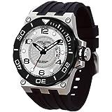 Jorg Gray Herren-Armbanduhr XL Divrers date Display Watch Analog Edelstahl JG9600-11
