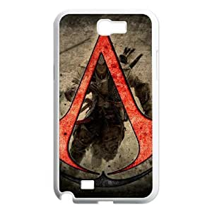 SamSung Galaxy Note2 7100 phone cases White Assassins Creed cell phone cases Beautiful gifts NYTR4644349