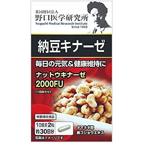 野口医学研究所 納豆キナーゼ 60粒×20個セット B01N3OCL11