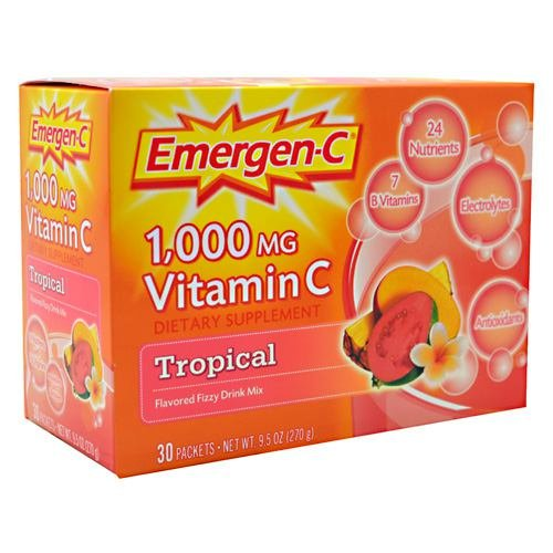 EMERGEN-C,TROPICAL pack of 9 by Emer'gen-C