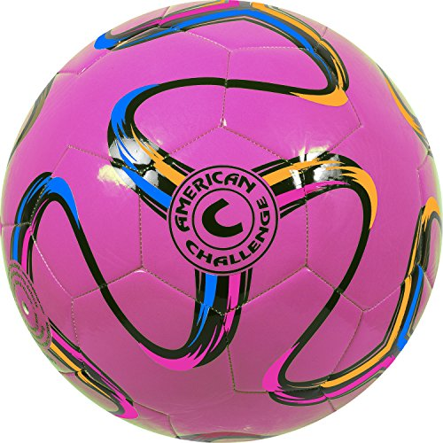 American Challenge Brasilia Soccer Ball (Raspberry, 2)