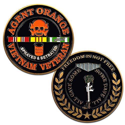 - Vietnam Veteran Agent Orange Challenge Coin