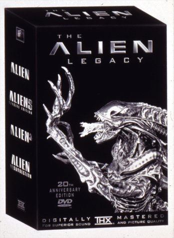 The Alien Legacy (Alien / Aliens / Alien 3 / Alien: Resurrection) by 20th Century Fox