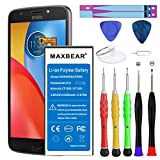 Motorola Droid Turbo 2 Battery, MAXBEAR [3550mAh] Li-Polymer Built-in Battery SNN5958A FB55 Replacement for Motorola Droid Turbo 2 XT1585 Moto X Force XT158 with Repair Tool Kits.[24 Month Warranty]