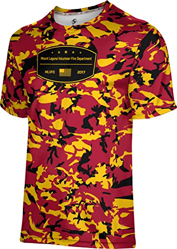 Price comparison product image ProSphere Boys' Mount Laguna Volunteer Fire Department Camo Tech Tee (Small)
