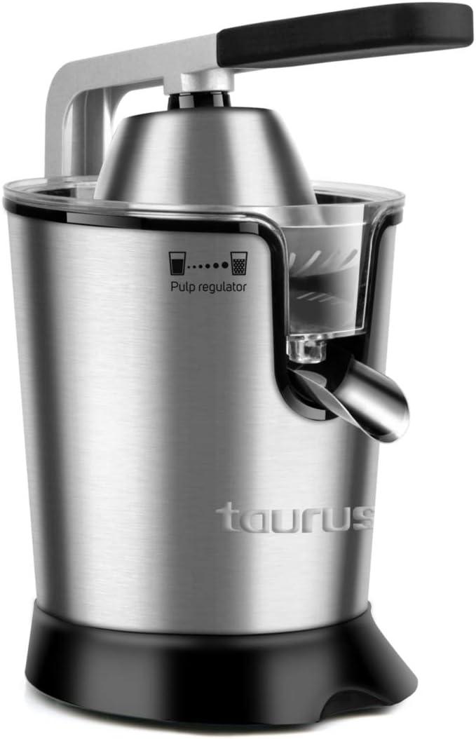 Taurus Easy Press Exprimidor Electrico, Acero Inoxidable: Amazon ...