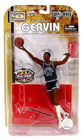 McFarlane Toys NBA Sports Picks Legends Series 4 Action Figure George Gervin (San Antonio Spurs)