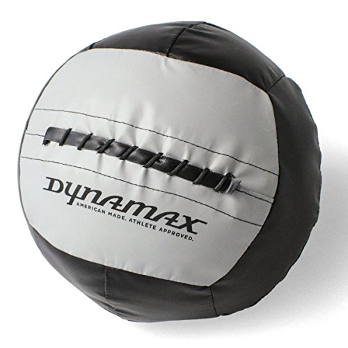 Dynamax Medicine Ball, Stout I, 12 Pounds, Black/Gray (24012) by Dynamax