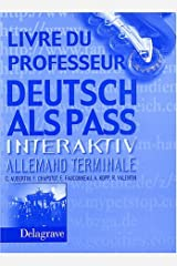 allemand terminale deutsch als pass fichier de preparation au baccalaureat