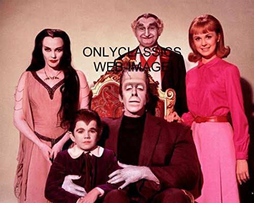 - OnlyClassics The Munsters Television Show 8X10 CAST 8X10 Photo Frankenstein Scary Spooky Monsters
