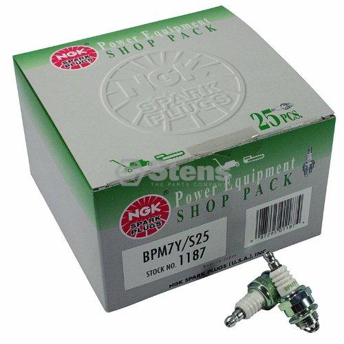 NGK Spark Plug Shop Pack , NGK BPM7Y