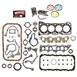 Evergreen Engine Rering Kit FSBRR8000EVE\0\0\0 86-95 Suzuki Samurai Sidekick Swift 1.3 SOHC G13A Full Gasket Set, Standard Size Main Rod Bearings, Standard Size Piston Rings