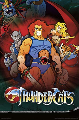 Trends International Thundercats-Group Clip Bundle Wall Poster, 22.375