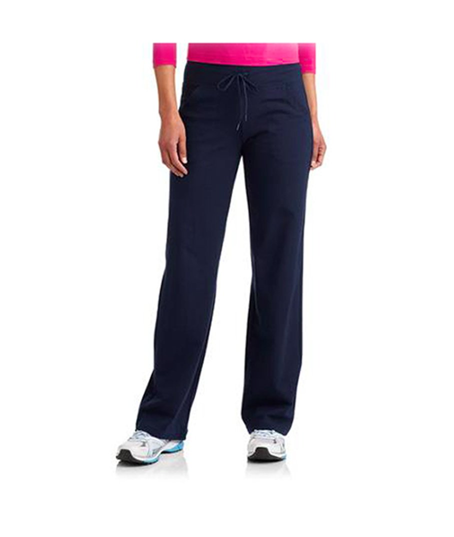 Danskin Now Women's Plus-Size Dri-More Core Relaxed Fit Workout Pant