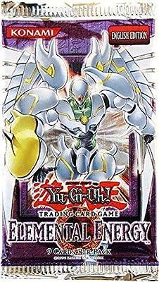 YuGiOh GX Card Game Elemental Energy Booster Pack [Toy]: Amazon.es: Juguetes y juegos