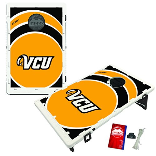 Virginia Commonwealth University Rams VCU Baggo Bean Bag Toss Cornhole Game Vortex Design by Victory Tailgate