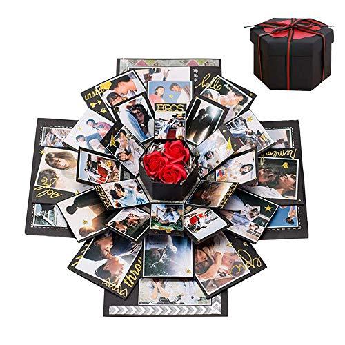 Cosswe explosiedoos, verrassingsdoos, maak zelf een fotoalbum, plakboek, gevouwen geschenkdoos, handgemaakte…