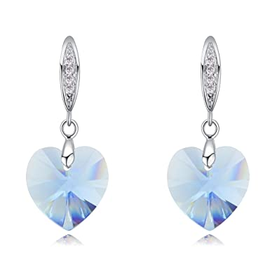 world-wide free shipping agreatvarietyofmodels pretty nice Hot And Bold Swarovski Crystals Earring For Women'S/Girls
