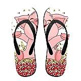 Best Pet Life Water Sandals - Xuhuayan Cute Pig Happy Pink Piggy Unisex Lightweihgt Review