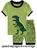 Kyпить Babyroom Boys Short Pajamas Toddler Kids Sleepwear Summer Clothes Shirts 5T на Amazon.com