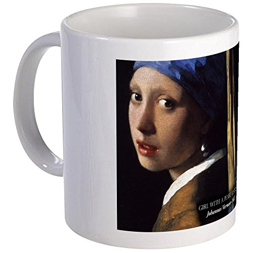 CafePress - The Girl With The Pearl Earring Historical Mugs - Unique Coffee Mug, Coffee Cup ()