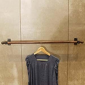 Amazon.com: JHYMJ - Perchero de pared para tienda de ropa ...