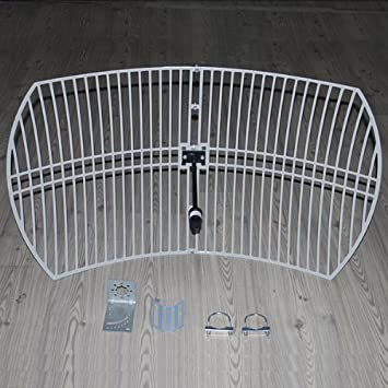 Superbat 58GHz High Gain 24dBi WiFi Antenna N Female Square Crid Parabolic Amazoncouk Computers Accessories