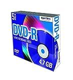 SmartDisk 5-pack DVD-R Media 4.7GB General Use Write Once (Single Sided)