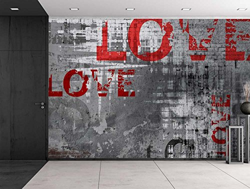 wall26 colorful graffiti large wall mural removable peel and stick wallpaper home decor 100x144 inches