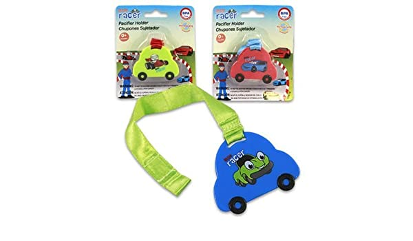 Amazon.com : Pacifier 1 Piece Little Racer Hood Assorted Case Pack 48 : Baby Pacifiers : Baby