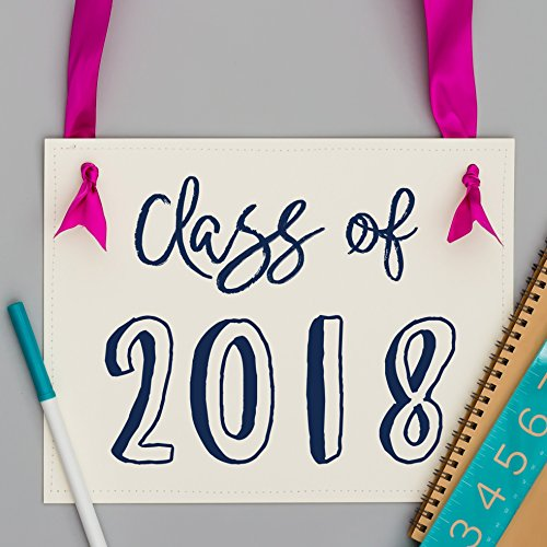 Class of 2018 Sign Graduation Party Decor Photo