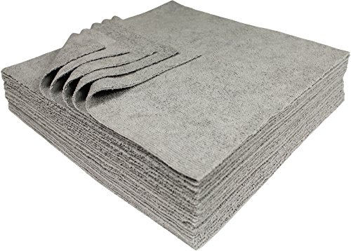 Udderly Clean Antimicrobial Silver Microfiber Towels Ultra Cut 12 X 12 in. ()