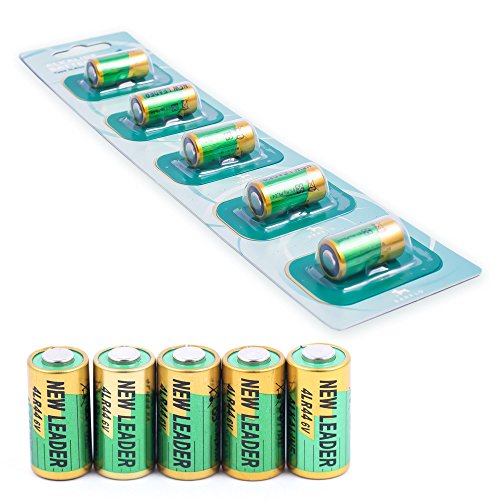 4lr44 6v Bark Collar Batteries – Durable Replacement Battery – Great For Dog Training - Safe For Small Vibrating, Static Shock, And Citronella Dog Training Collars – Set of 5
