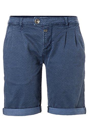 3158 Timezone Blu Textil Blue Ronjatz Donna Triangle Pantaloncini Regular HpX8qwxrH