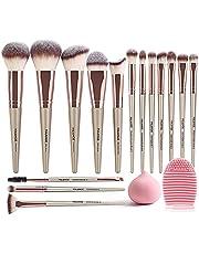 15 pcs makeup brushes
