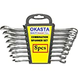 OKASTA 8PCS Spanners Set Bike Hand Tools for car auto Repair kit Set ferramentas manuais 8,10,12,13,14,15,17,19mm