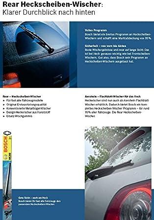 Bosch Aerotwin Scheibenwischer Set Vorne Hinten Auto