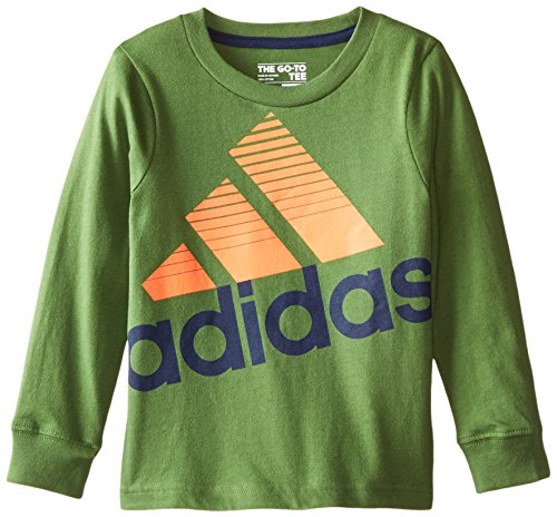 adidas Little Boys' Performance Power Tee, Raw Green, 2T (Power Tee The Raw)