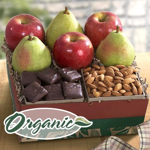 Organic Fruit and Candy Gift