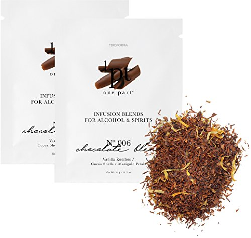 Teroforma 1pt CHOCOLATE Infusion Blend for Alcohol & Spirits - Flavor Infuser Packets for Home Infusion (Single Pack, 2 Packets)