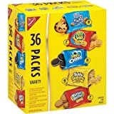 Nabisco Mini Snack Variety Packs, 1 oz, 36-Count: 6-Teddy Grahams Honey, 7 Nutter Butter, 8-Oreo- 8-Chips Ahoy! Mini & 7-Ritz Bits (Pack of 2) by Unknown