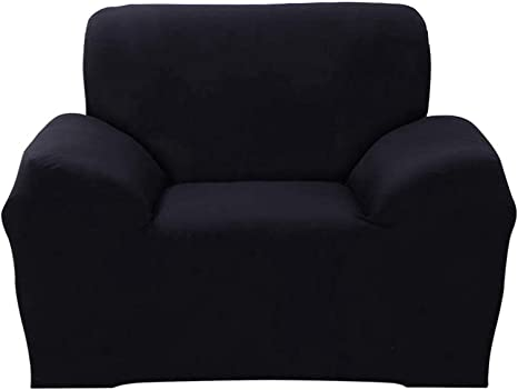 Solid Stretch Chair Sofa Covers 1 2 3 4 Seater Couch Elastic Slipcover Protector