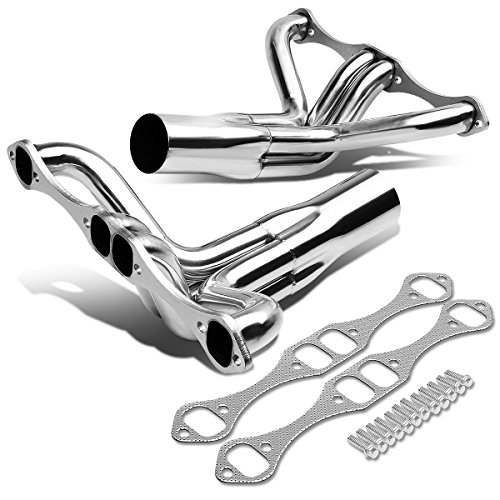 (For Chevy Small Block SBC V8 IMCA Stainless Steel Exhaust Header)