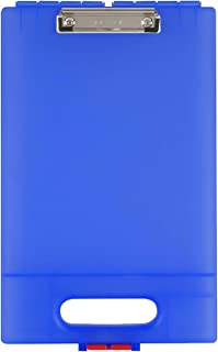 product image for Dexas Clipcase Storage Clipboard with Handle, Blue