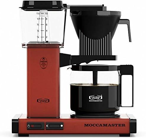 Technivorm KBG Coffee Brewer, 40 oz, Brick Red