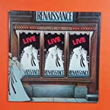 RENAISSANCE Live At Carnegie Hall SASY 3902 Sterling Dbl LP Vinyl VG+ Cover VG++