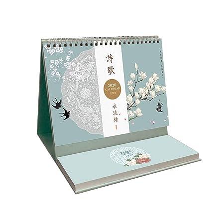SSN 2020 Calendario de Escritorio Calendario Plan de Calendario ...