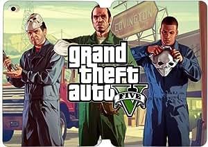 Grand Theft Auto 1zy5mp Mini Funda iPad 1,2,3 funda de cuero del caso del tirón x5y1e cubiertas de tabletas únicas